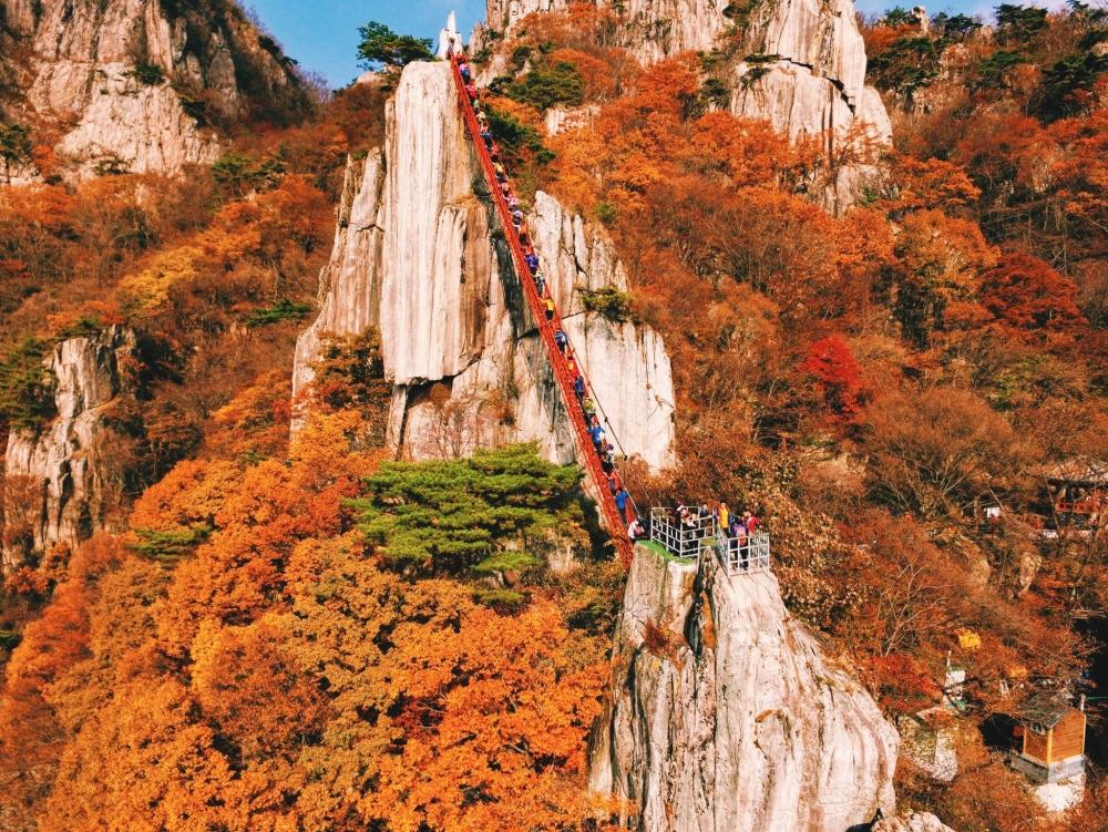Daedunsan Mountain Staircase