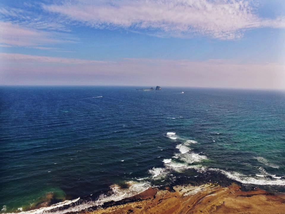 Sagye Beach, Brother Island, Jeju Island, South Korea