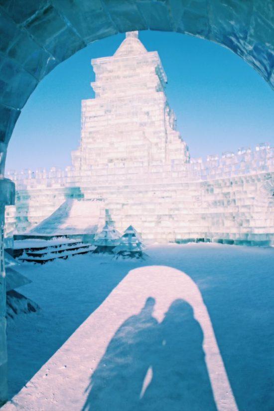 Harbin Ice Festival, Shadows