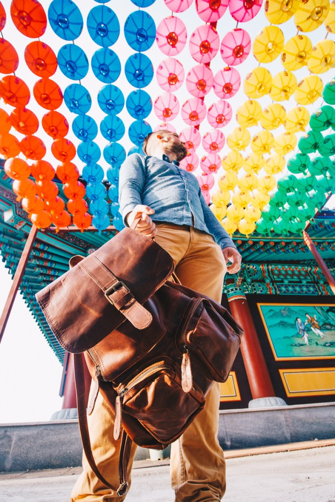 Best Travel Day Bag by MAHI Leather