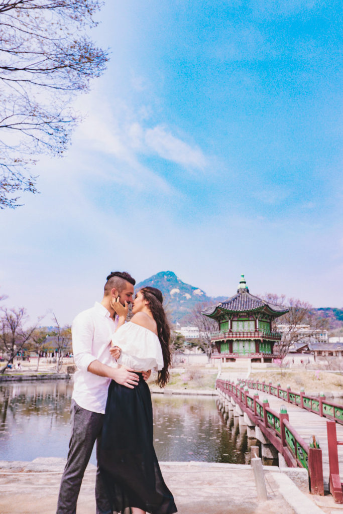 Spring in Korea is a perfect time for couples travel