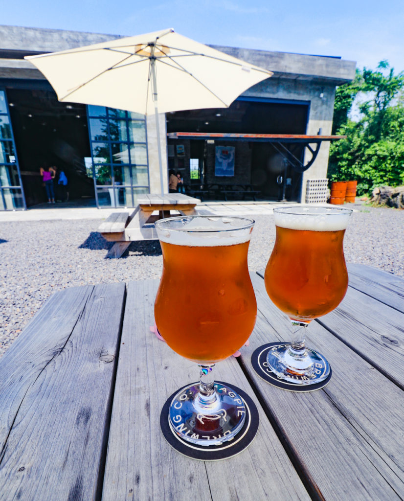 Magnolia Craft Beer by Magpie Brewing Co on Jeju Island