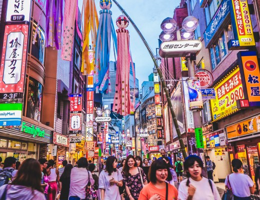 The life of Shibuya captured on our Arigato Tokyo Food Tour in Japan