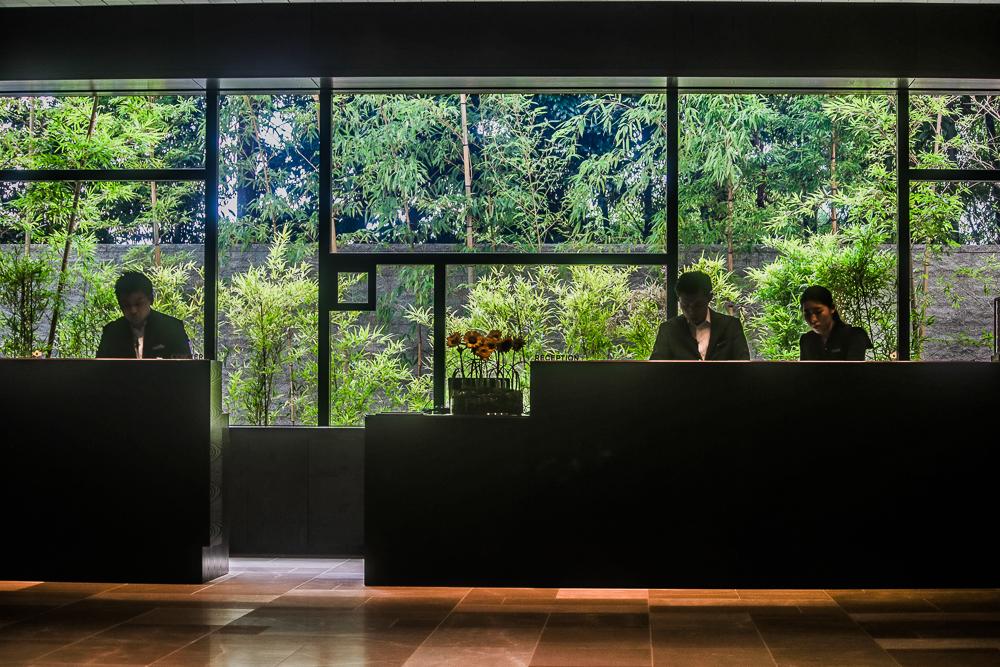 Loving the Hotel Four Seasons Kyoto Lobby Design by HBA