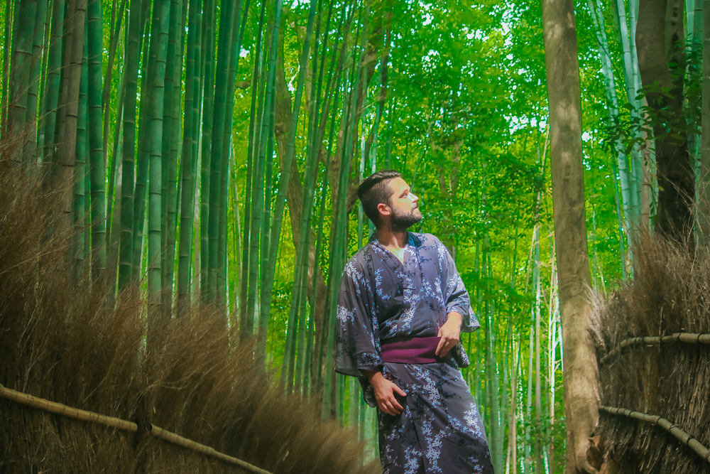Japanese traditional clohthes for man