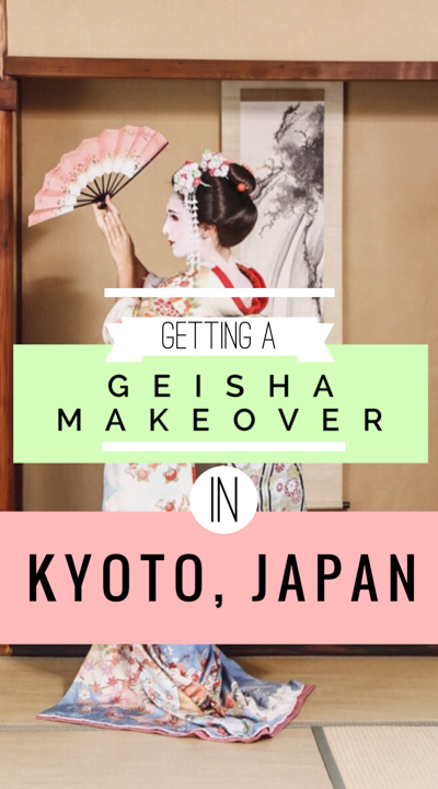 Do you admire Japanese geisha makeup and kimono? Consider a geisha or maiko Kyoto makeover on your visit to Japan (or samurai costume for the men!) Includes a Japanese geisha make-up tutorial video! This was a fun, cultural experience for our trip to Japan, and we had a blast learning about the intricacies of the maiko and geisha Japanese culture. Don't miss it on your next Japan trip--it's certainly one of the best things to do in Japan, AND one of the best things to do in Kyoto!