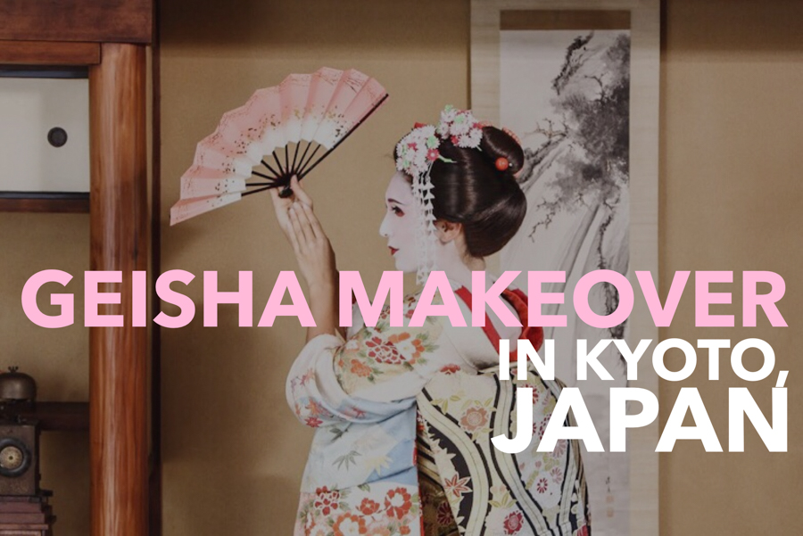 Do you admire Japanese geisha makeup and kimono? Consider a geisha or maiko Kyoto makeover on your visit to Japan (or samurai costume for the men!) Includes a Japanese geisha make-up tutorial video!