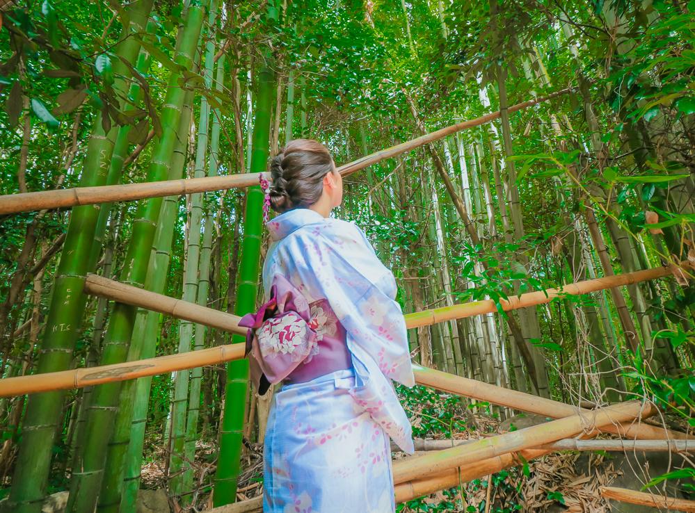 Renting Kimono in Kyoto Japan