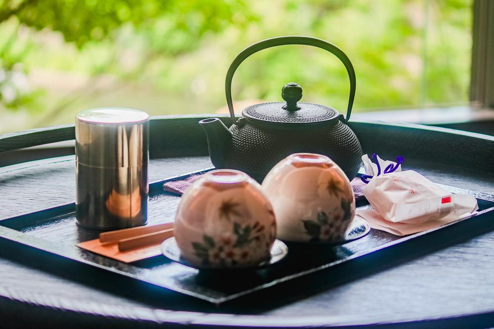 Green Tea at Kyoto Four Seasons Hotel