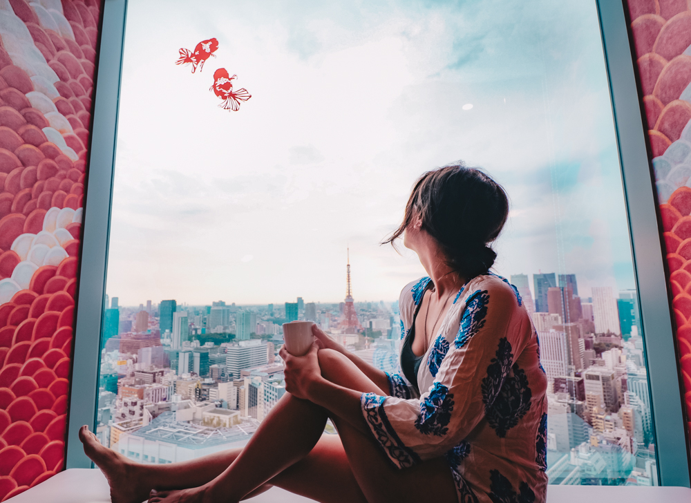 Tokyo city view for Japan travel
