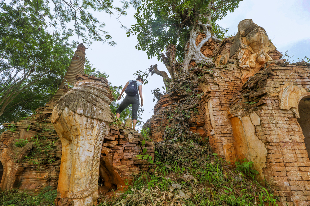 What to wear for hiking in Myanmar