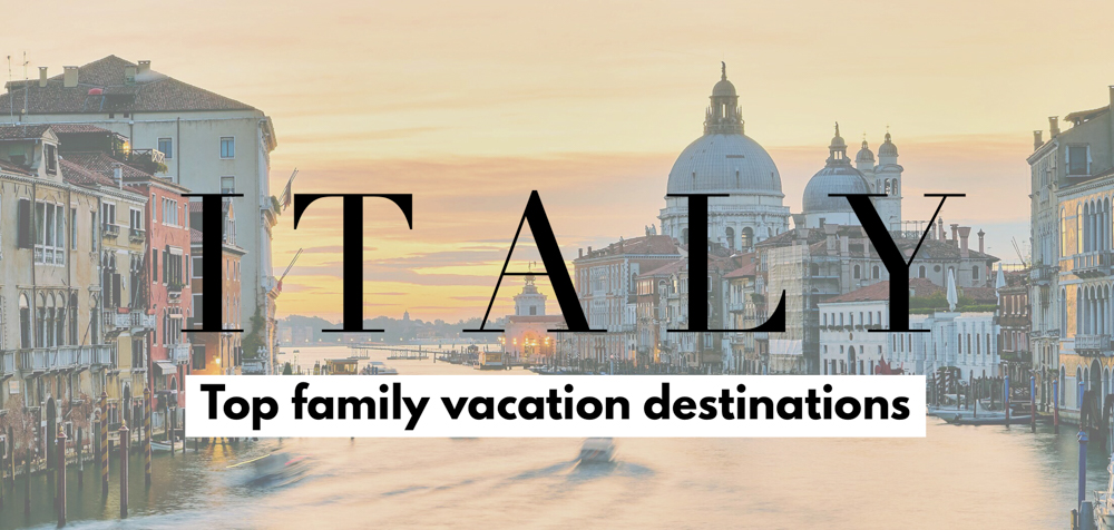 Take your family vacation to the next level with these best places to visit in Italy. Here are the top Italy tourism itinerary selections for family trips!