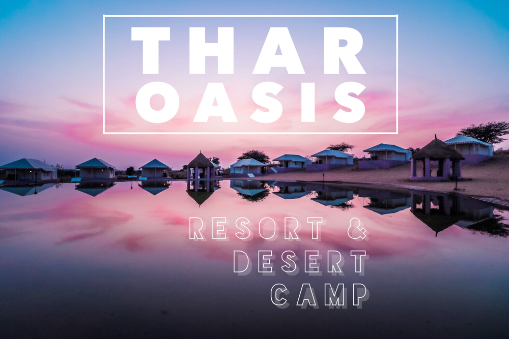 Thar Oasis Resort & Camp is the ultimate Rajasthan hotel for the great Indian desert experience, perfect for Indian camel riding, jeep safari, and weddings! If you're looking for the best hotels in Jodhpur, India, the Thar Oasis boasts an incredible Thar desert location, whether you choose to stay in their resort or experience a taste of their transportive desert glamping!