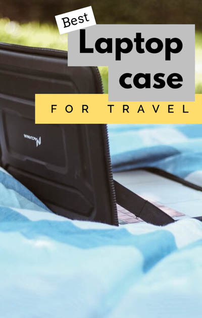 As travel bloggers always on the go, we've determined the best laptop case for travel, offering waterproof, shockproof, military-grade protection!