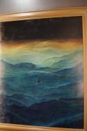 Zdjęcie obrazu Beksińskiego