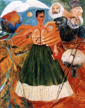 "Frida Kahlo ""Marxism will give health to the sick"" źródło:fridakahlo.org"