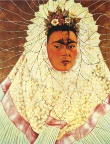 Frida Kahlo-Autoportret; źródło: fridakahlo.org
