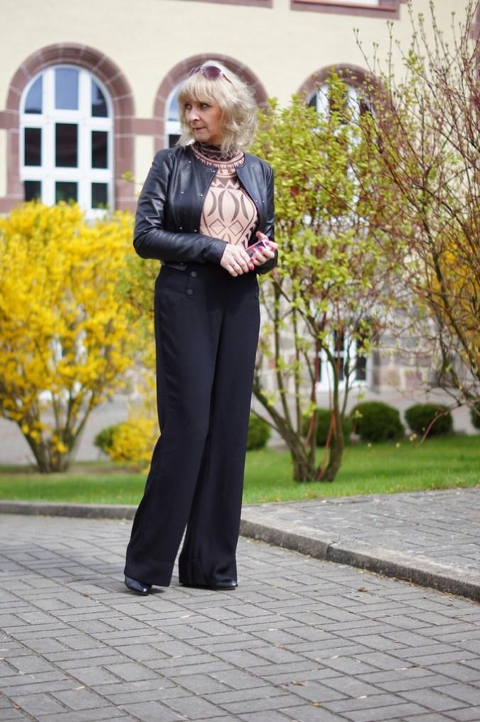 Szerokie spodnie, nowy trend
