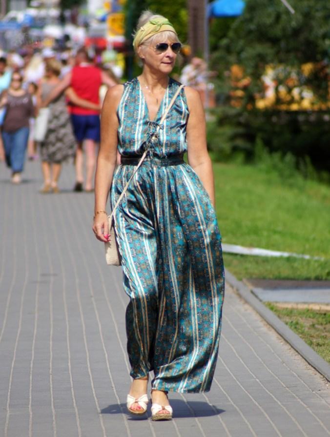 Styl boho, moda uliczna