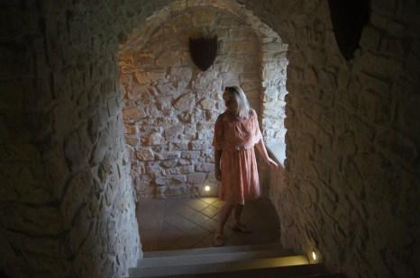 Bobolice , zamek z historia w tle