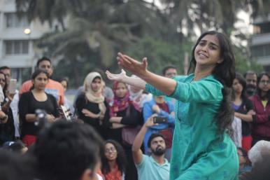 Sanjukta at Mumbai Kabir Festival