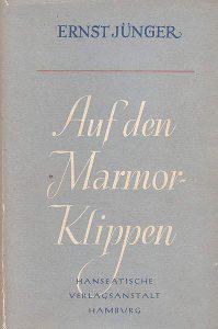 """""""Auf den Mamorklippen"""" von Ernst Jünger"""