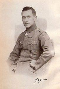 Der Schriftsteller Ernst Jünger