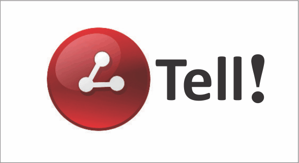new tell logo