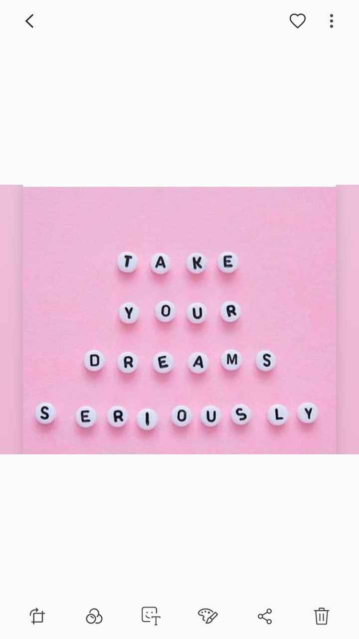 Take Your Dreams Seriously (TAYODS)
