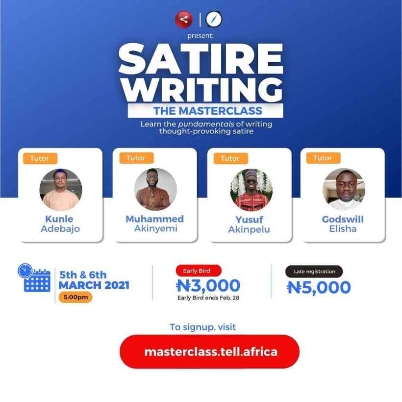 Satire Writing: The Masterclass