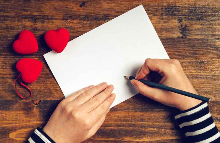 A LETTER TO MY LOVE.