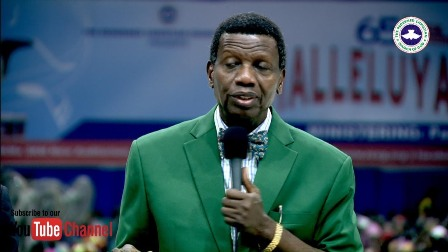 Pastor Enoch Adejare Adeboye Photo