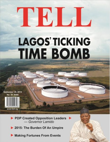Lagos Ticking Time Bomb