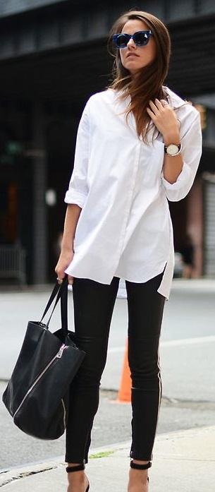 vit-skjorta