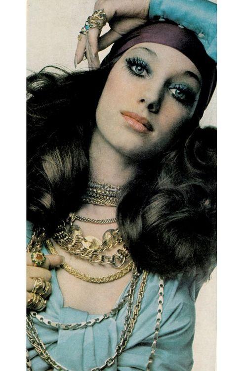 Marisa Berenson by Paolo Barbieri, 1969.