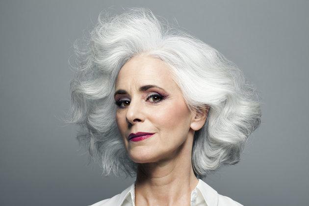 Klok shopping & grått hår, eller ej