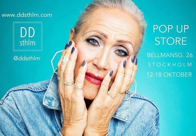 En popupstore med smycken i annons på Instagram