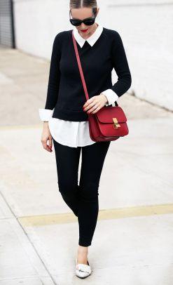 #OOTD_ Brooklyn Blonde Is Parisian Chic in Black & White