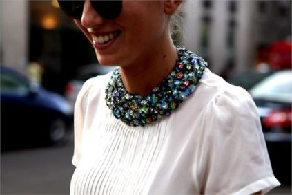 TREND OF THE DAY_ Embellished Collars!