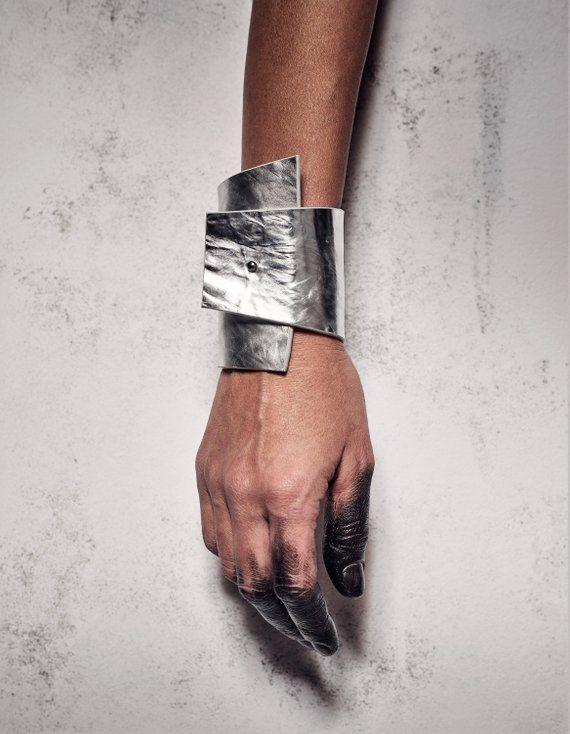Women Bracelets for prom Modern Leather Cuff Bracelet _ Etsy