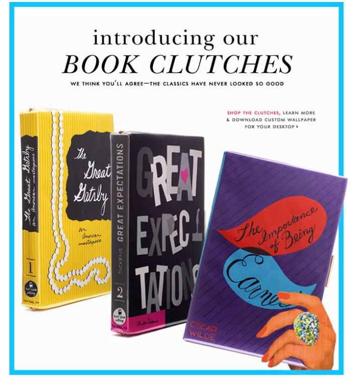Bookclutch, Kate Spade