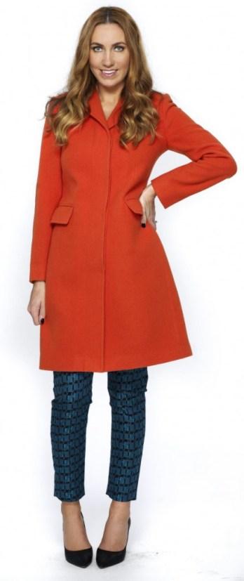 röd kappa från Gant   4 199 kr