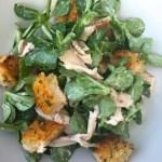 Caesar-Salad als Resteverwertung