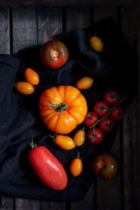 tomatensalat rezept einfach