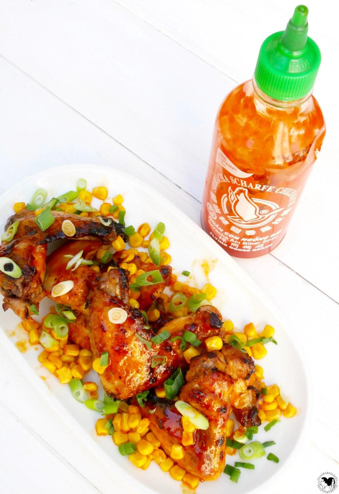 Leckere-Sriracha-chicken-wings