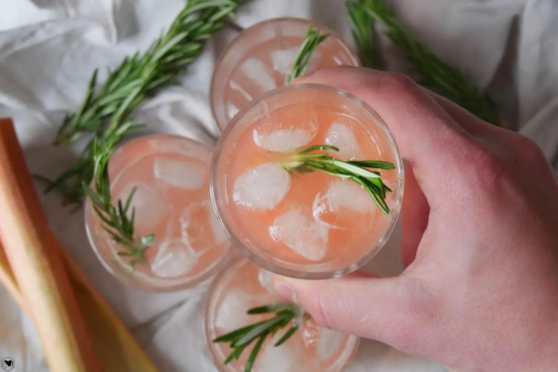 rhabarber cocktail