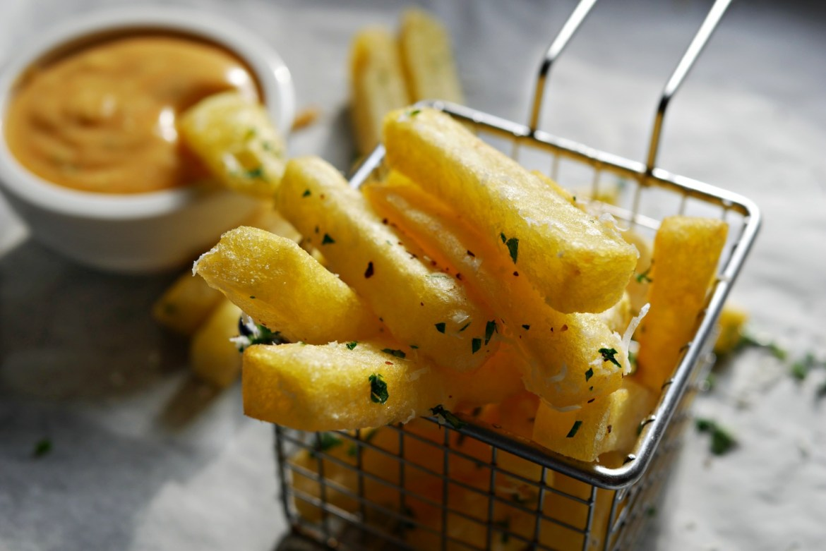 chilli cheese pommes