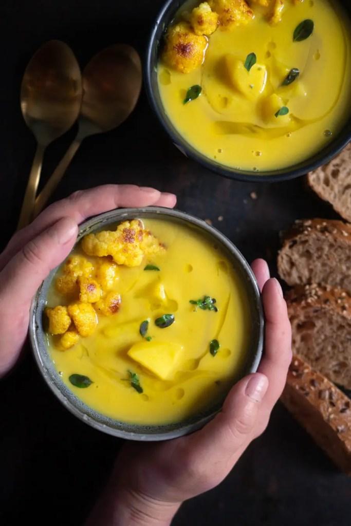 Blumenkohl Kartoffel Suppe