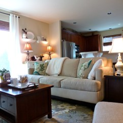Manhattan Sofa Pottery Barn Double Bed Comfortable Home Tour Source List  Tell 39er All About It
