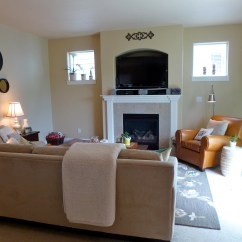 Chestnut Colored Leather Sofa Cheap Black Corner Uk Home Tour Source List – Tell'er All About It